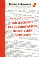 Zur Geschichte des Bildungswesens im deutschen Südwesten